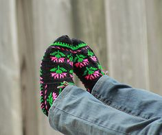 Turkish Knitted slippers