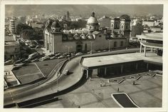 Basilica de Santa Teresa,Caracas años 50
