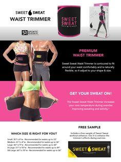 d491131600 Sweet Sweat Premium Waist Trimmer (Pink Logo) for Men   Women. Includes  Free Sample of Sweet Sweat Workout Enhancer! Size  Medium