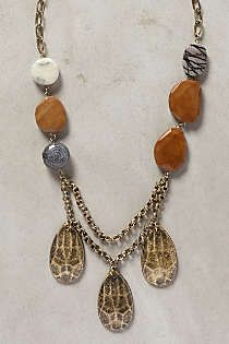 Anthropologie - Mineral Mist Necklace