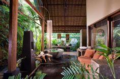 Bali Style Bathroom