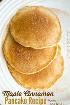 Maple Cinnamon Pancakes