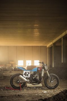 There's something strangely appealing about flat track bikes. Maybe it's the stripped-back look. Or the stubby proportions. This is one of the best-looking we've seen for a long while: It's the work of Italian racer Lorenzo Buratti, a man who has lived his life on two wheels.