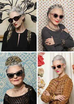 Karen Walker eschews the fashion industry's obsession with youth. The glamorous models in this lookbook range from ages 65-92. Awesome.