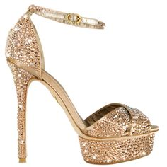 SWAROVSKI Limited Edition Italian Le Silla Heels...I am in LOVE!!!