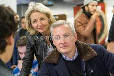 Paris : Xavier Niel et Bruno Le Maire à l'école 42 - A la une - via Citizenside France. Copyright : Christophe BONNET - Agence73Bis