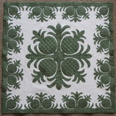 """""""Pineapple Patch"""" Quilt"""