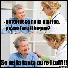 Dottoressa ho la diarrea