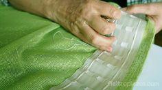 Cómo hacer unas cortinas molonas y fáciles                                                                                                                                                                                 Más