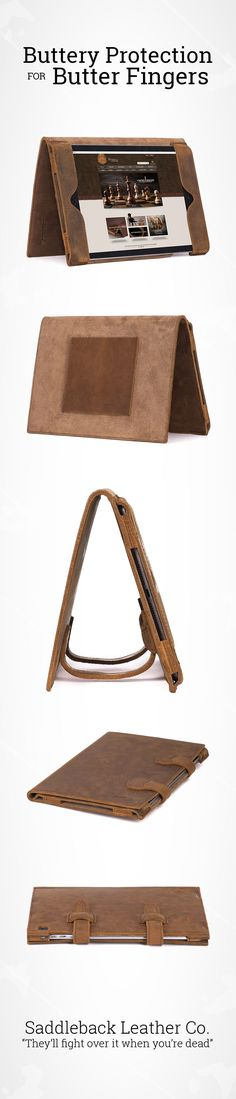 The iPad Air 2 Case | Full Grain Leather | 100 Year Warranty | $98.00