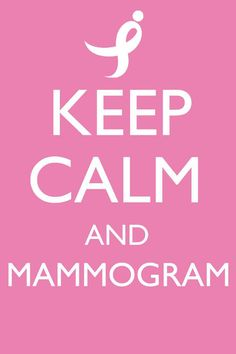 Remember, early detection is the key to prevention so make sure you get your mammograms and remind your loved ones to get theirs.