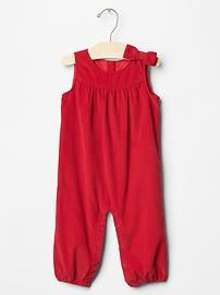 Cord bow one-piece