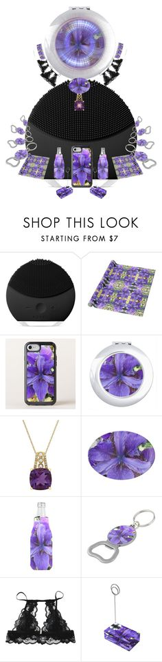 """Flowering Branch of the Full Moon."" by gayeelise ❤ liked on Polyvore featuring FOREO and Lord & Taylor"
