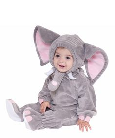 3ea34462ac0d8 Take a look at this Gray Elephant Dress-Up Set - Infant  amp  Toddler