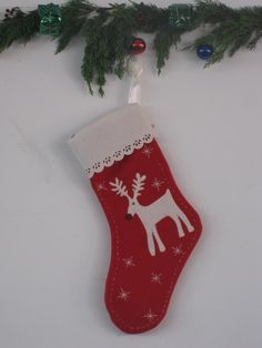 Christmas stocking ( Santa graphics )