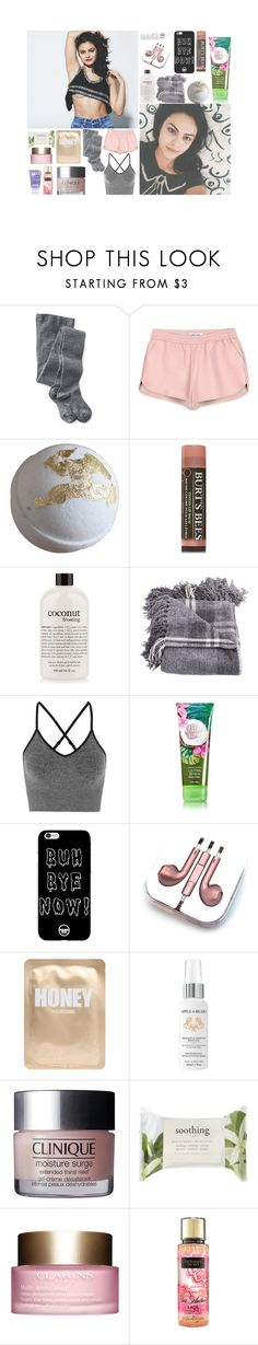 """""""・゚✧ O8:18 pm;; OOTN ・゚✧"""" by amazing-an0ns-23 ❤ liked on Polyvore featuring Smartwool, Elizabeth and James, Burt's Bees, philosophy, Ivy Park, PhunkeeTree, Lapcos, Apple & Bears, Forever 21 and Clarins"""