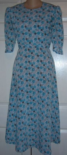 "Amish #Mennonite Modest Handmade Spring/Summer Nursing Cape Dress 36""Bust /to 30""Waist   #Handmade #Casual"