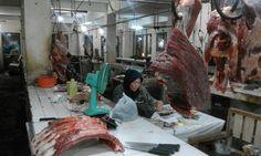 Penjualan Daging Sapi di Pasar Pagi Kota Tegal Normal