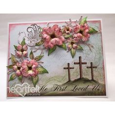 Heartfelt Creations - Blooming Dogwood Branches Project