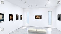 Give your web visitors an exciting new experience - curate your own virtual exhibitions in a gallery - 'Open/Closed' an exhibition by Moisés Fragela, pres. Exhibitions, New Experience, Gallery Wall, Museum, 3d, Link, Home Decor, Decoration Home, Room Decor