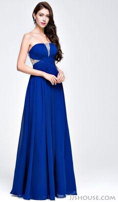 Simple design decked out with some sparkle, it stops you from looking for a perfect prom dress. #JJsHouse #Party #Prom