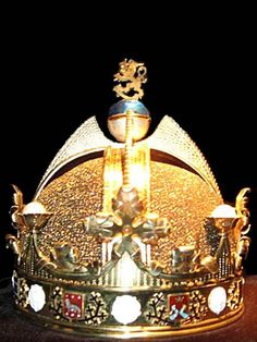 Incredible Crown Jewels From Around The World -Finland: The crown shown here was designed in 1918 for or the proposed King of Finland, but the proposed political situation changed before the crown could be used in the coronation ceremony of Finland's first independent monarch. It's never been used.