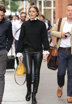 Olivia Palermo Out in New York Fashion Mode, Minimal Fashion, Look Fashion, Winter Fashion, Fashion Outfits, Womens Fashion, Minimal Chic, Fashion Weeks, Milan Fashion