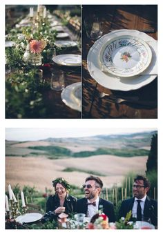 Podere Finerri - The Lazy Olive Lazy, Table Settings, Image, Wedding, Place Settings, Tablescapes