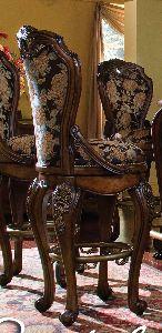Aico Furniture Oppulente Sienna Spice Accent Furniture Stools Swivel Bar Stool sienna Spice Furniture
