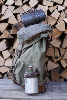 100% True Rare 1942 Ww2 Era Swiss Military Army Leather Binocular Case Great Condition Binocular Cases & Accessories