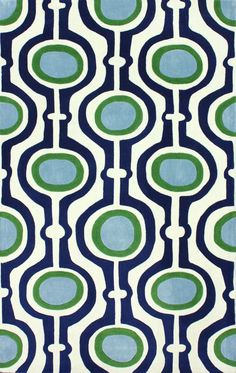Keno Pearle Blue Rug | Contemporary Rugs