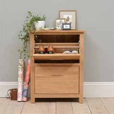 Hallway Storage, Shoe Storage And Benches | Oak, Solid Wood And White | The