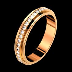 Pink gold Diamond Wedding ring - Piaget Luxury Jewellery G34PC300