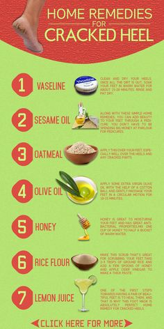 Here is our list of 10 simple home remedies for cracked heels that will help soothe and makeover your cracked heels, and let you step out in ...