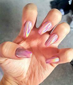 Chrome Nails Art Design