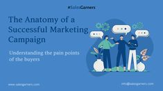 The Anatomy of a Successful Marketing Campaign - SalesGarners Marketing Private Limited Successful Marketing Campaigns, Sales Tips, Business Intelligence, Competitor Analysis, Business Advice, Growth Mindset, Lead Generation, Anatomy, Digital Marketing