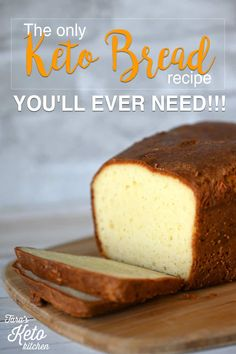 Keto Bread The Only Keto Bread Recipe Youll Ever Need - Keto Recipes - Ideas of Keto Recipes - Its here! The Only Keto Bread Recipe Youll Ever Need. Snag the and make this tonight. Coconut Flour Bread, Baking With Coconut Flour, Almond Flour Recipes, Oat Flour, Coconut Oil, Coconut Cream, Sour Cream, Low Carb Keto, Low Carb Recipes