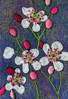 I love this embroidery.  Amazing colors.