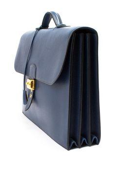 Vintage Hermes Leather Sac a Depeche