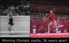 Winning Olympic Valuts 56 Years Apart http://ift.tt/2aJYlbC Love #sport follow #sports on @cutephonecases