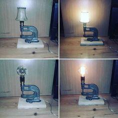 100% recykling #industriallamps #vinage #oldwood #oldiron #forsale