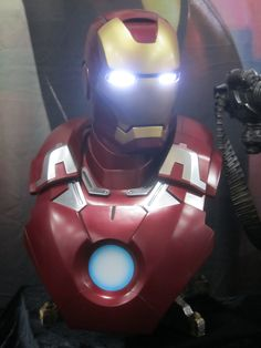 Iron Man by Sideshow Collectibles - 2012 SDCC #marvel #ironman #sideshowcollectibles #sdcc