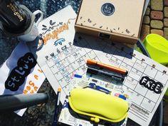 calendar, planner, organizer, notebook, plan, box, packaging, coffee, aeropress, yellow, photo: Zenja blog
