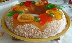 Recette de la brioche des rois bordelaise, fruits confits, sucre