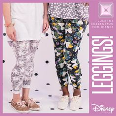 LuLaRoe Collection for Disney $30 in all adult legging sizes