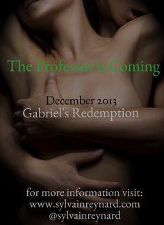 """Sylvain Reynard: """"Gabriel's Redemption"""" Release Date & News"""