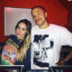 DJ Ivy and DJ AmRo at The Brig in Venice. #djlife #nightclubs #bars #DJIvy #DJAmRo #venice #VeniceBeach