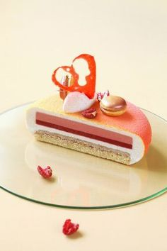 Your cake. Smart way. Gift it. Nothing can beat our handmade Mirror Glaze Cake! Fancy Desserts, Fancy Cakes, Just Desserts, Dessert Recipes, Entremet Recipe, Peach Melba, Pastry Art, Beautiful Desserts, Baking And Pastry