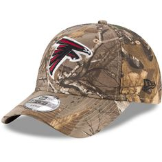 40beb07e11e Men s Atlanta Falcons New Era Realtree Camo Realtree 49FORTY Fitted Hat