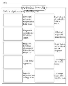 Landforms - Super Teacher Worksheets images ideas from Worksheets Ideas Earth Day Worksheets, Science Worksheets, Teacher Worksheets, Kindergarten Worksheets, Worksheets For Kids, Landforms Worksheet, Story Sequencing Worksheets, Geography Activities, Geography Lessons